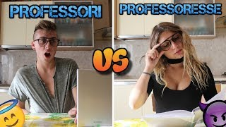PROFESSORI VS PROFESSORESSE