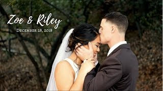 Zoe & Riley's Wedding Day