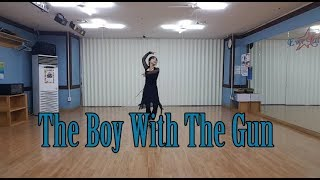 The Boy With The Gun( Ria Vos)- Line Dance
