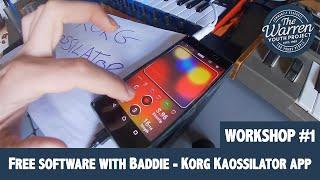 SCOTT -  Free Software With Baddie - Korg Kaossilator App
