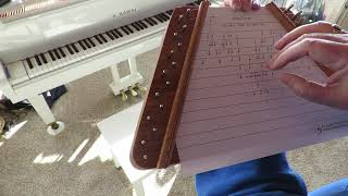 Valley Forge ~ Played on a Zither / Lap Harp by Debbie Center