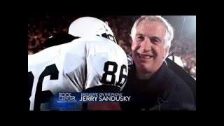 Bob Costas and Jerry Sandusky