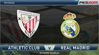 PES 2015 - Athletic Bilbao x Real Madrid [PS4 - PT/BR]