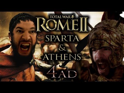 ROME Total War II - Athens & Sparta | #4