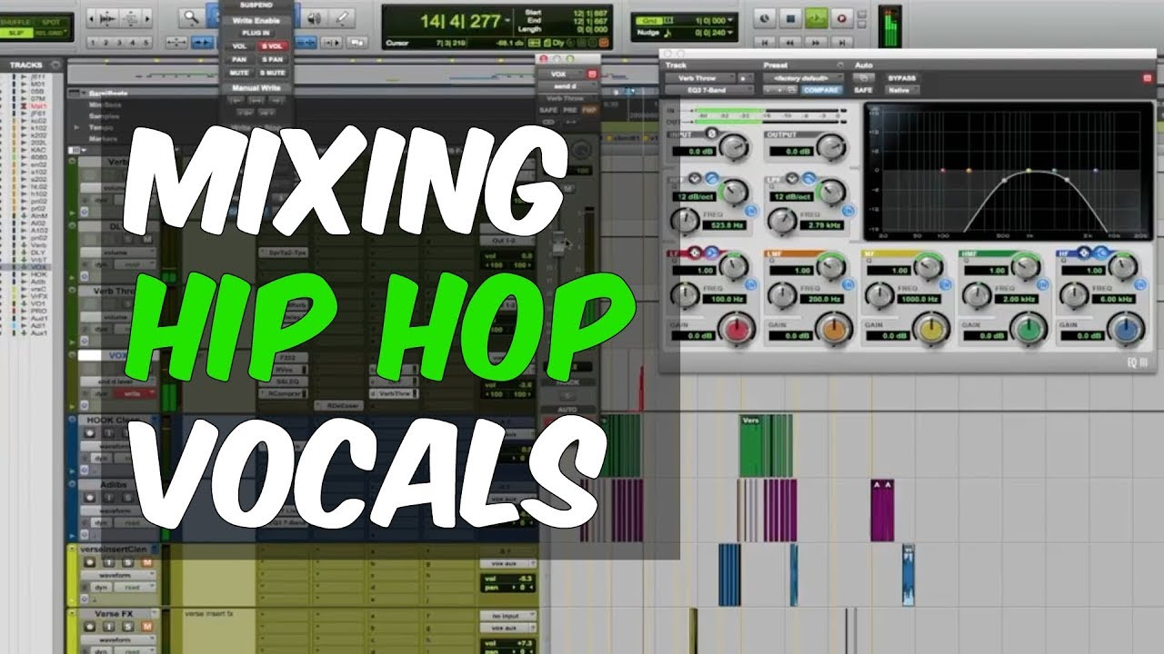 Mixing Hip Hop Vocals featuring Ariel Chobaz & Bob Horn