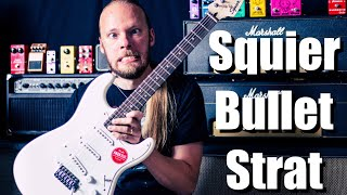 Squier Bullet Stratocaster (The Cheapest Squier Strat)