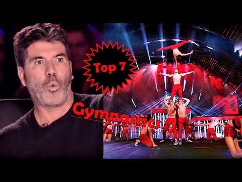 Top 7 best gymnastics auditions on got talent global