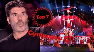 Download Top 7 best gymnastics auditions on got talent global Mp3 and Videos