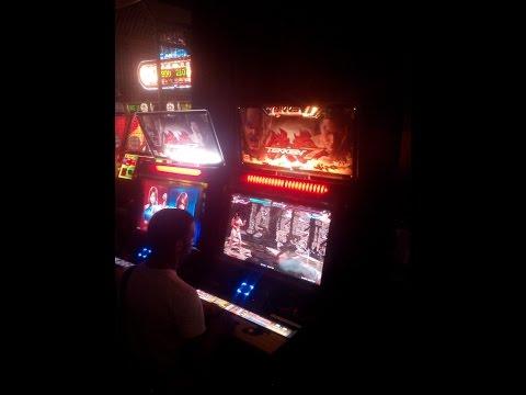Lieutenant_John plays Tekken 7. (Times square location test)