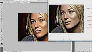 Repeat youtube video Photoshop tutorial - Dave Hill effect.avi
