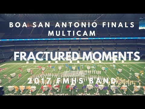 2017 Flower Mound HS Marching Band | Fractured Moments | BOA San Antonio Finals Multicam