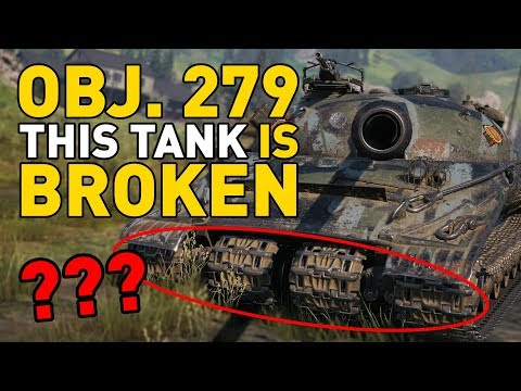 Object 279 (e) Is BROKEN In World Of Tanks!