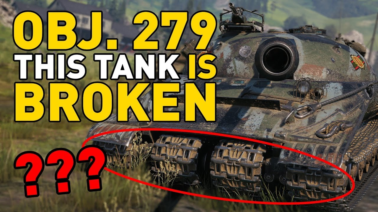 Object 279 (e) is BROKEN in World of Tanks! thumbnail