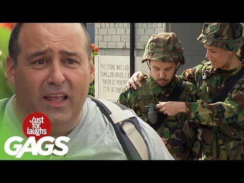 BOMBS AWAY Instant Accomplice Prank! - Just For Laughs Gags