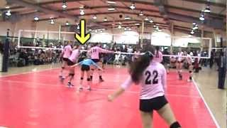 "McCallen Kennedy - 6' 1"" Setter - Class of 2014 - High School & Club Volleyball Highlights"