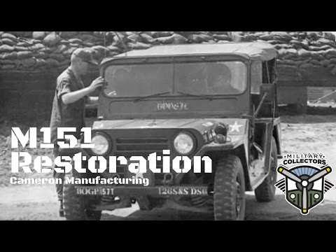 Episode 3: Military Collectors M151 Restoration - Cameron Manufacturing