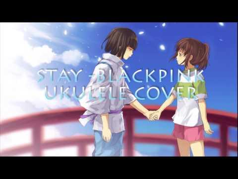 STAY (BLACKPINK) - UKULELE COVER Ft LYRIC