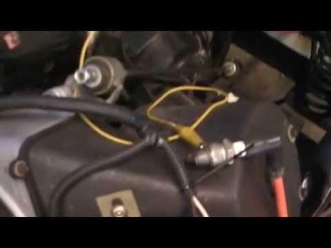 1981 Harley/Columbia starter/generator wiring complete - YouTube on
