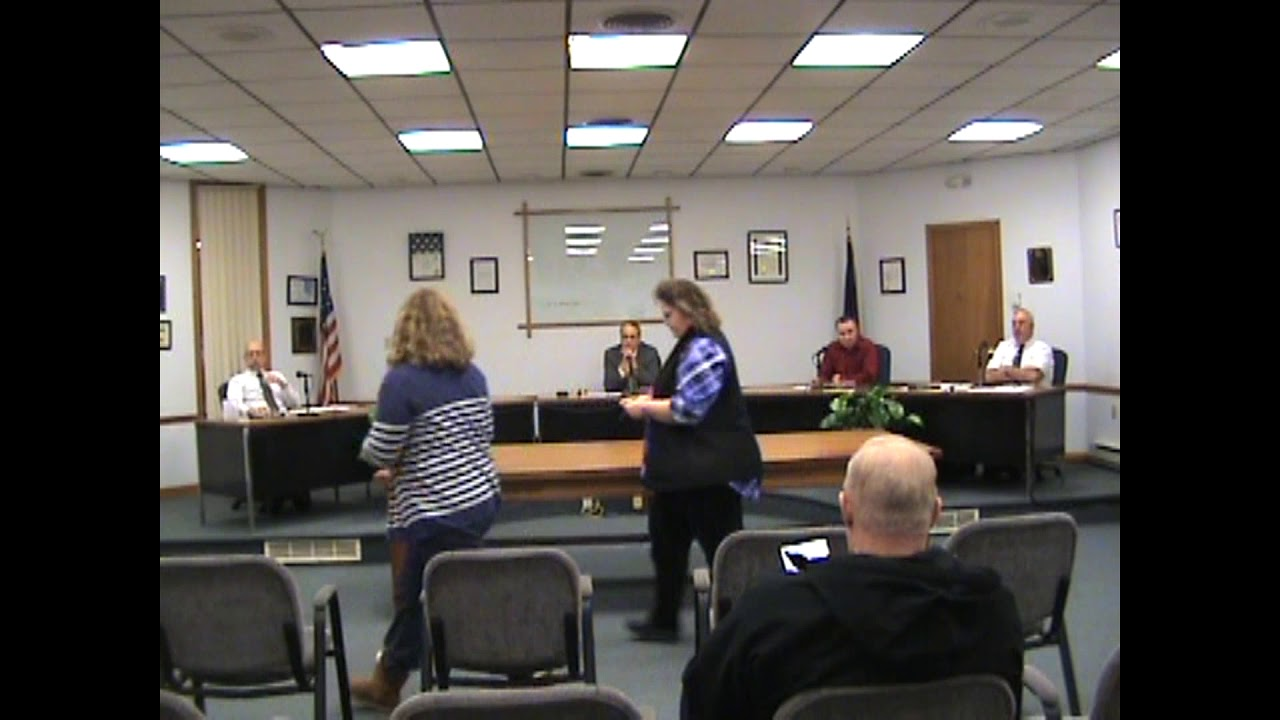 Rouses Point Village Board Meeting  12-3-18