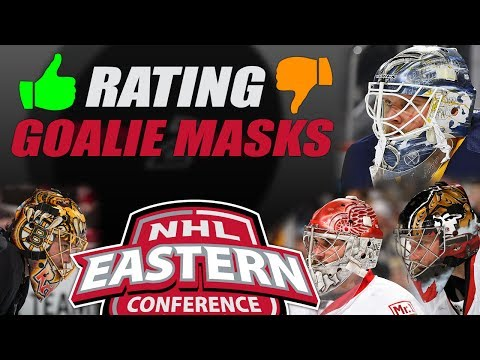 Rating NHL Goalie Helmets(East) - Part 1