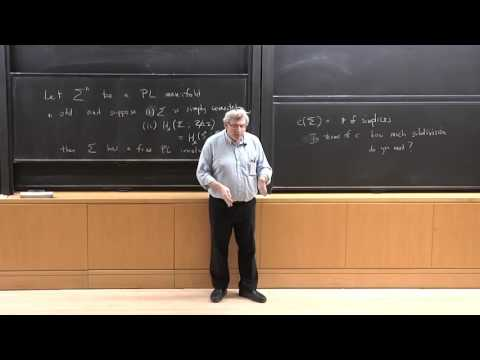Shmuel Weinberger - Episodes from Quantitative Topology: 1. Variational problems, Morse and Turing