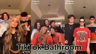 5 minutes of tiktokers in the tiktok bathroom | TikTok Compilation