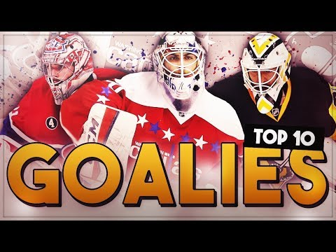 RANKING THE TOP 10 NHL GOALIES!