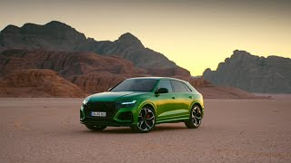 homepage tile video photo for 2020 Audi RS Q8 Defined: Overview