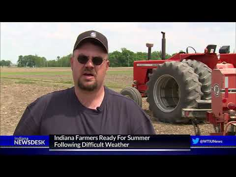 Indiana Farmers Work Around The Clock to Get Crops In The Ground