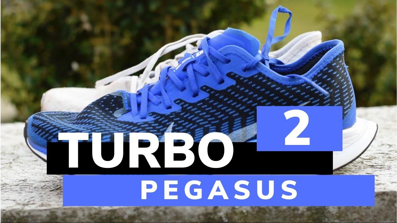 Nike Zoom Pegasus Turbo 2, la recensione dettagliata