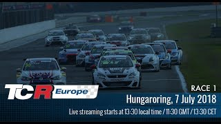 2018 Hungaroring, TCR Europe Round 7 in full