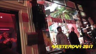 Голландия Амстердам 2017. ВЛОГ №1 Кофешоп, редлайт, отель, цены и Кокаин есть на улице!