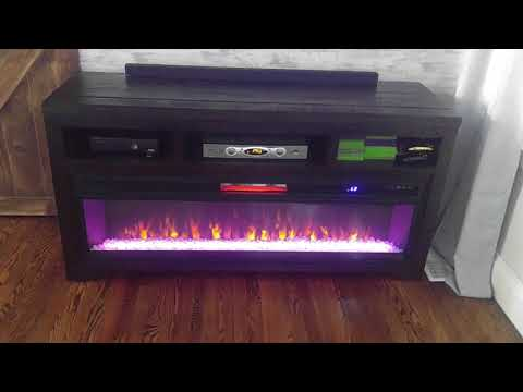 Ashley Furniture fireplace/tv stand! love it!
