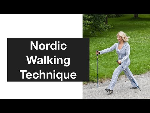 Nordic Walking Technique