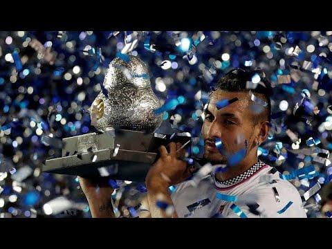 Tennis: Nick Kyrgios wins the Acapulco International in Mexico