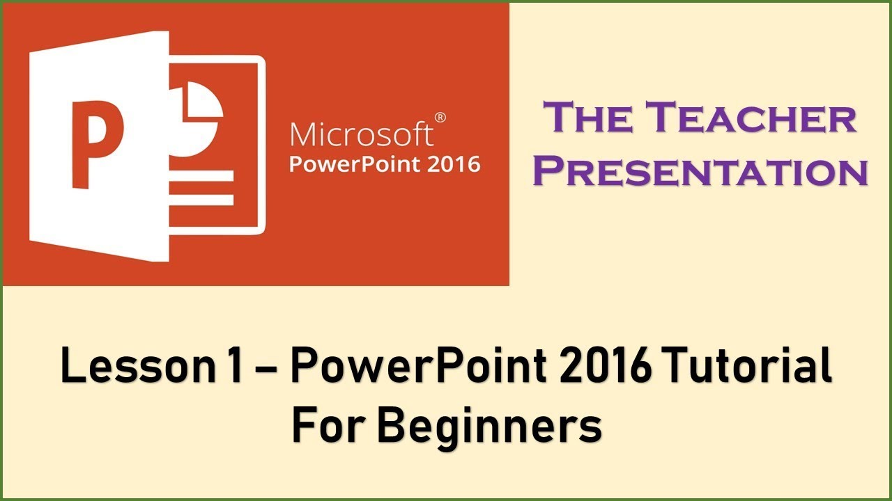 introduction to microsoft powerpoint 2016 for beginners