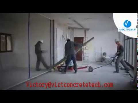 Lightweight Concrete Wall Panel Installer Installation