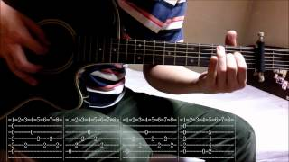 Tab - Ichiban no Takaramono Yui Ver. guitar cover (overdub)