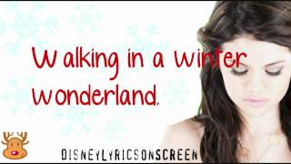 Watch Selena Gomez Winter Wonderland video