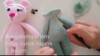 Amigurumi Pattern Amigurumi Junior Aloha Made | CHAPTER 2 || Arm ... | 180x320