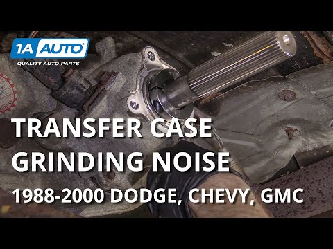 Old Transfer Case Problems In 88 00 Dodge Chevy Gmc Trucks And Suvs Youtube