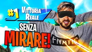 ROYAL VICTORY WITHOUT AIMING! FORTNITE ITA