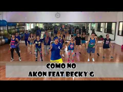 COMO NO - AKON feat BECKY G   ZUMBA   REGGAETON   CHOREO by YP.J