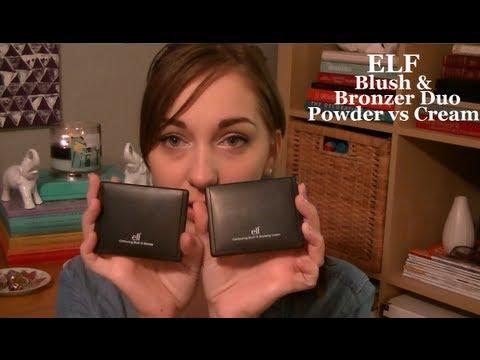 Elf contouring blush bronzer duo powder vs cream how to elf contouring blush bronzer duo powder vs cream how to apply ccuart Choice Image