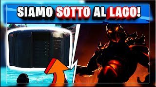 I'm GONE ON THE LAGO ET ECCO WHAT's there! SEMAINE 8 FORTNITE SFIDE! (saison 8 patch 8.40)