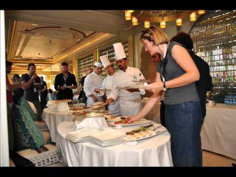Doha Film Festival Turkish finger food buffet
