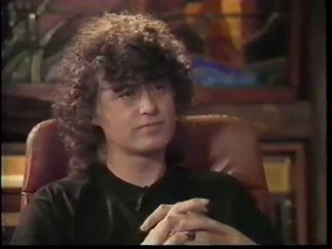 Jimmy Page 1988 EPK Outrider interview