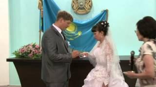 Свадьба Жени и Марины Буш г.Кокшетау 21.07.2012 г.