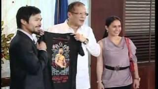 http://rtvm.gov.ph - Courtesy Call of Rep. Manny Pacquiao