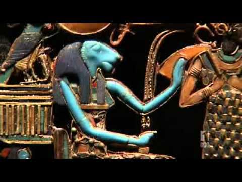Inside Tutankhamun's tomb